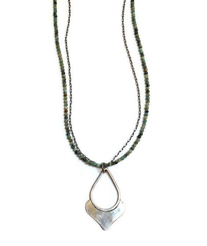 Julia Britell Jewelry - Drop Pendant