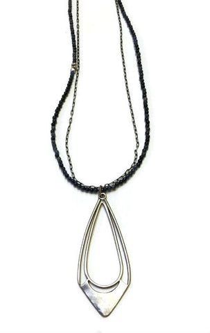 Julia Britell Jewelry - Long Drop Pendant