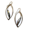 Julia Britell Jewelry - Large Leaf Earrings