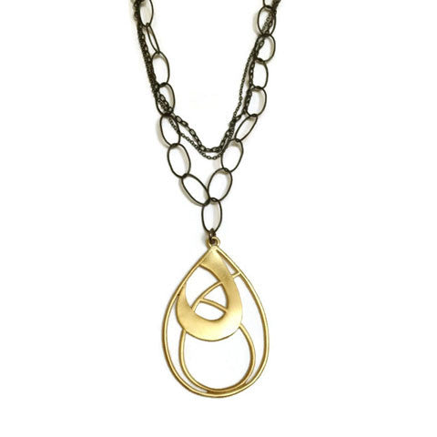 Julia Britell Jewelry - Loop Pendant