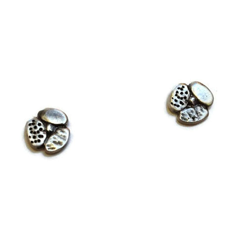 Julia Britell Jewelry - Pebble Post Earrings