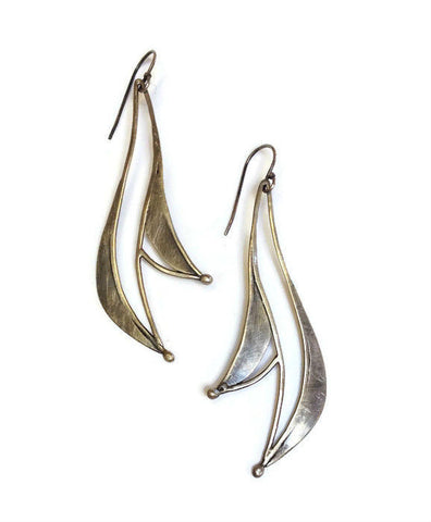 Julia Britell Jewelry - Petal Drop Earrings