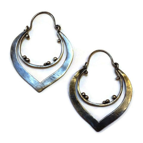 Julia Britell Jewelry - Double Hoop Earrings