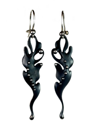 Katia Olivova Jewelry - Sea Fan Earrings