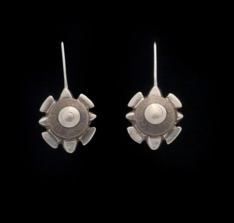 Kenneth Pillsworth Jewelry - Shield Earrings