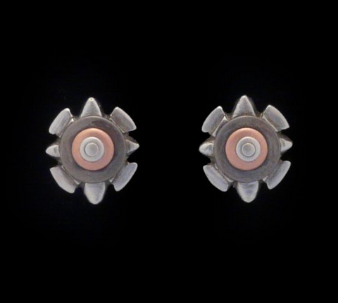 Kenneth Pillsworth Jewelry - Shield Post Earrings
