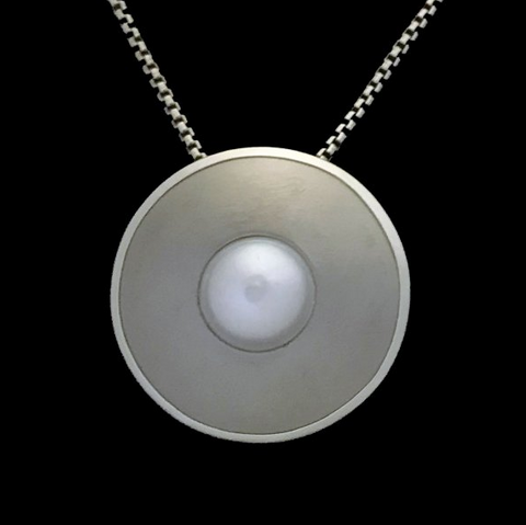 Kenneth Pillsworth Jewelry - Strata Pearl Pendant
