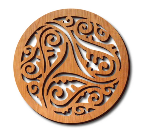 Lightwave Laser - Arabic Circle Trivet