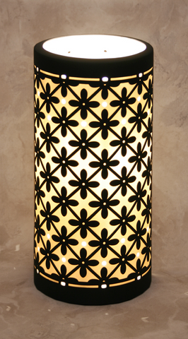 The Porcelain Garden - Marrakesh Silhouette Accent Lamp