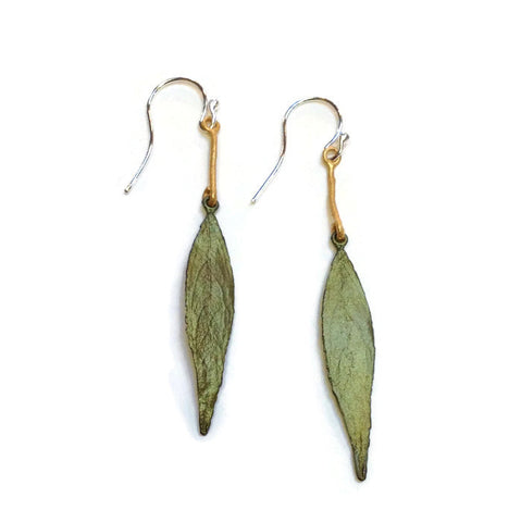 Silver Seasons - Michael Michaud - Weeping Willow Earrings