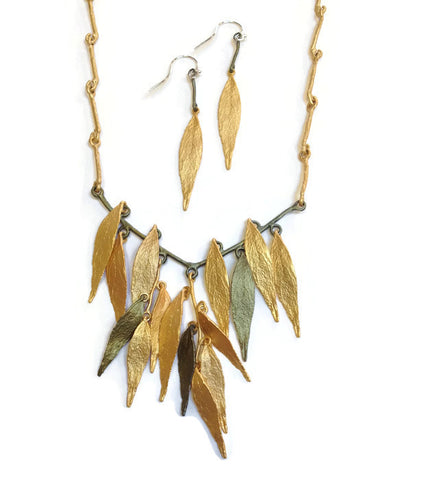 Silver Seasons - Michael Michaud - Weeping Willow Necklace