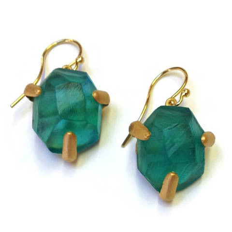 Michael Vincent Michaud Jewelry - Geopebbles Drop Earrings