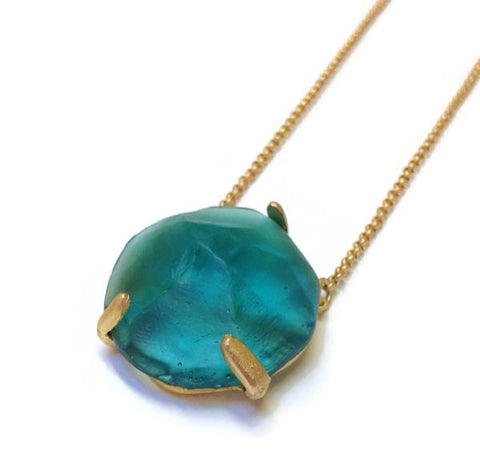 Michael Vincent Michaud Jewelry - Geopebbles Pendant