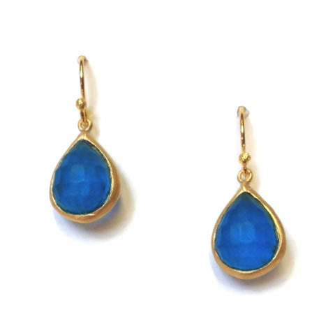 Michael Vincent Michaud Jewelry - Faceted Tear Drop Earrings