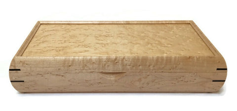 Mikutowski Woodworking - Birds-eye Maple Valet Box
