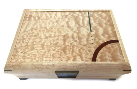 Mikutowski Woodworking - Birdseye Maple Jewelry Box