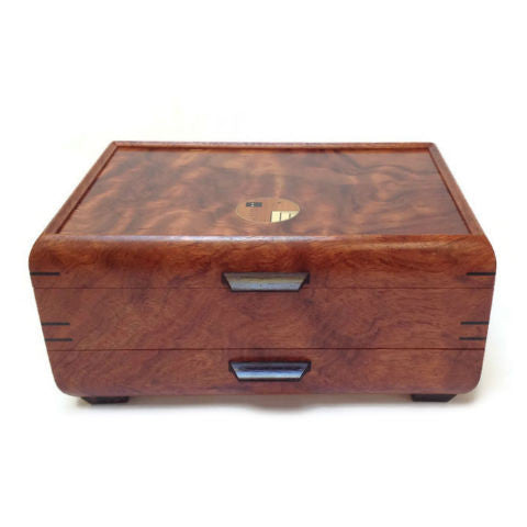 Mikutowski Woodworking - Bubinga Jewelry Box