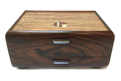 Mikutowski Woodworking - Bolivian Rosewood Jewelry Box