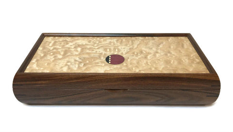 Mikutowski Woodworking - Rosewood and Tamo Ash Valet Box