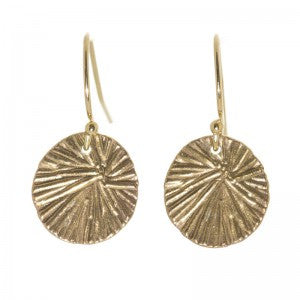 Miravos Jewelry - Small Medallion Earrings