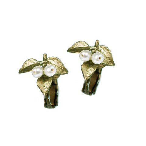 Silver Seasons by Michael Michaud - Myrtle Clip Earrings