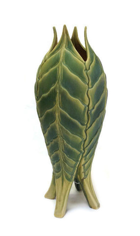 Newman Ceramic Works - Four Leaf Vase