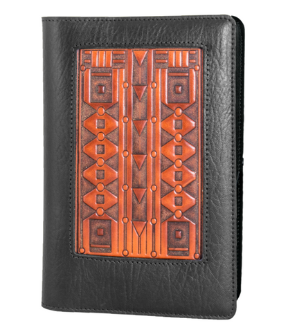 Oberon Design - Art Deco Icon Refillable Leather Journal