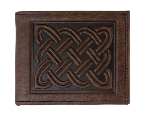 Oberon Design - Celtic Braid Leather Wallet