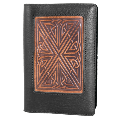 Oberon Design - Celtic Icon Refillable Leather Journal