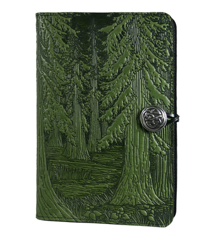 Oberon Design - Forest Large Refillable Leather Journal
