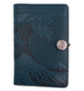 Oberon Design -  Wave Small Refillable Leather Journal