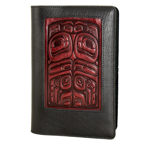 Oberon Design - Bear Totem Icon Refillable Leather Journal