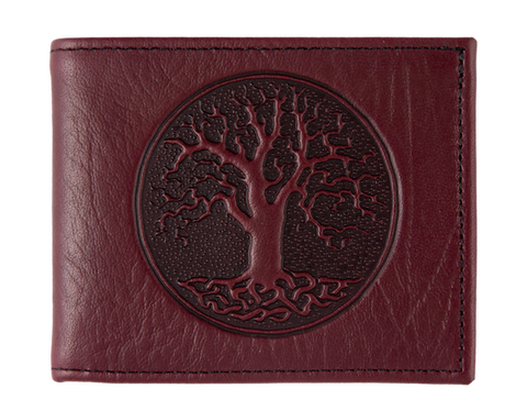 Oberon Design - Tree of Life Leather Wallet
