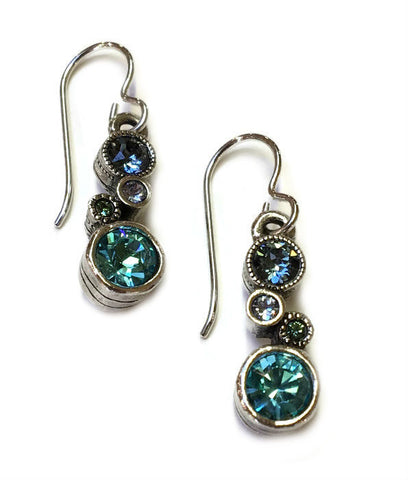 Patricia Locke Jewelry - Cassie Earrings in Zephyr