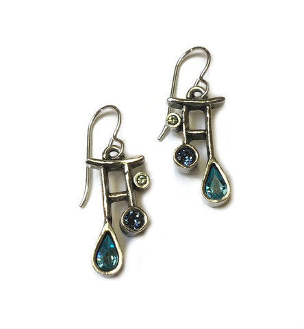 Patricia Locke Jewelry - April Showers Earrings in Zephyr