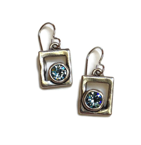 Patricia Locke Jewelry - Awatovi Earrings in Aqua