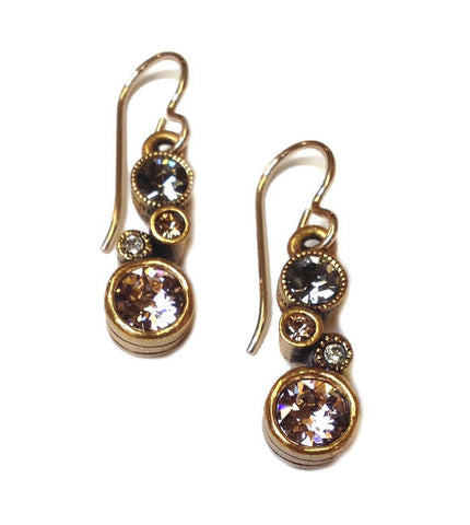 Patricia Locke Jewelry - Cassie Earrings in Champagne