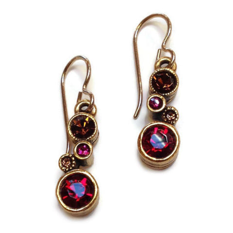 Patricia Locke Jewelry - Cassie Earrings in Tapestry