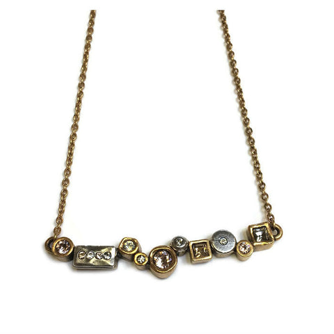 Patricia Locke Jewelry - Danae Necklace in Champagne
