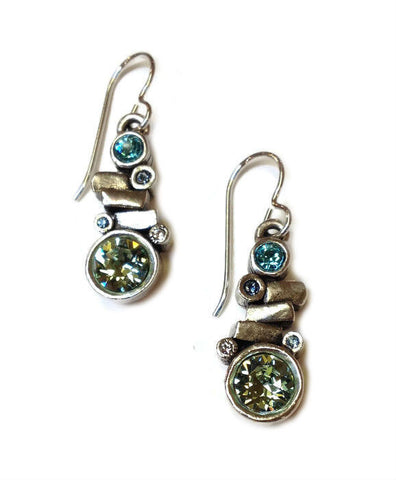 Patricia Locke Jewelry - Gila Earrings in Zephyr