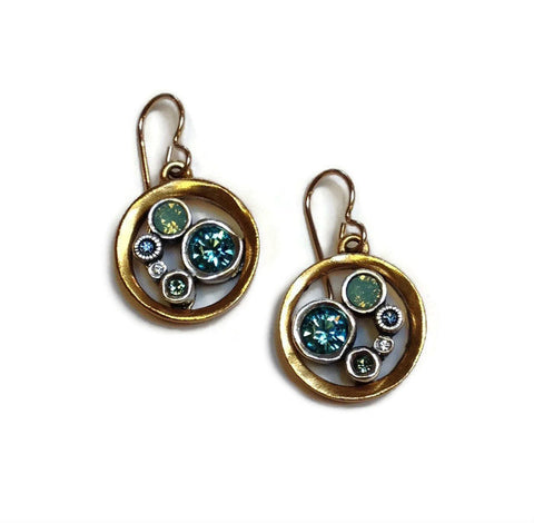 Patricia Locke Jewelry - Go Karts Earrings in Zephyr