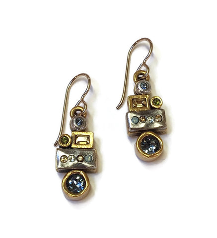 Patricia Locke Jewelry - Girlfriends Earrings in Cascade