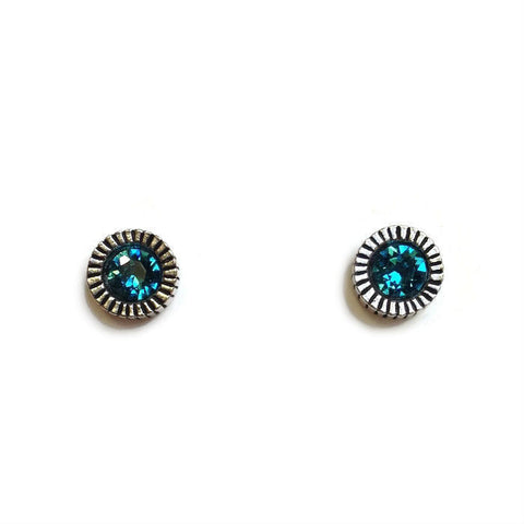 Patricia Locke Jewelry - Uno Earrings in Indicolite