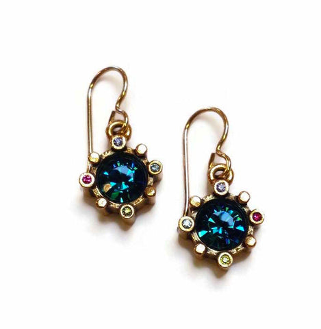 Patricia Locke Jewelry - Compass Earrings in Celebration