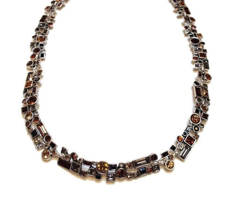 Patricia Locke Jewelry - Confetti Necklace in Tweed