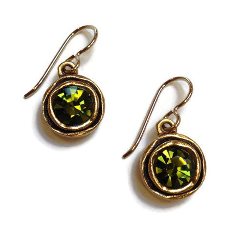 Patricia Locke Jewelry - Illumine Earrings in Olivine