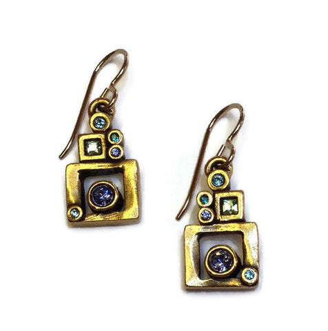 Patricia Locke Jewelry - Picture Window Earrings in Waterlily