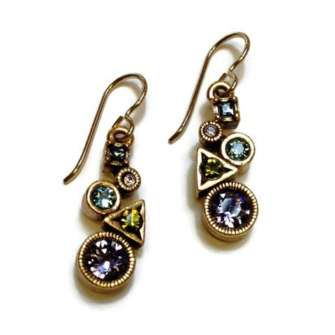 Patricia Locke Jewelry - Sorceress Earrings in Tranquility
