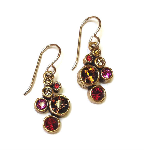 Patricia Locke Jewelry - Splash Earrings in Tapestry