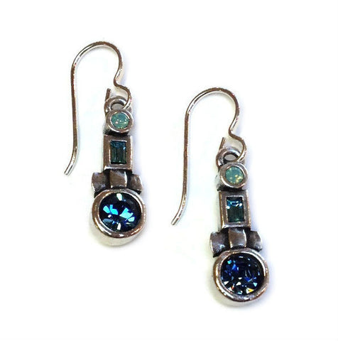 Patricia Locke Jewelry - Tiki Earrings in Zephyr
